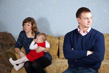 family after quarrel