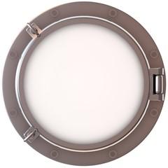 Porthole, illuminator frame