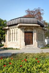 Ernst-Abbe-Denkmal in Jena, Deutschland