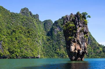Fotobehang Zalm island Thsiland