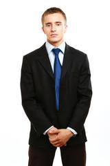 Closeup portrait of a successful businessman