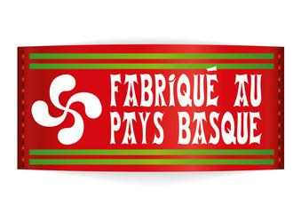 Etiquette_Fabrique au pays basque