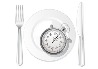 repas chronomètre