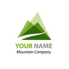 Abstract Logo Green Mountain # Vector