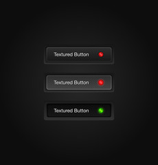 Textured vector web buttons