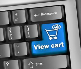 "Keyboard Illustration ""View Cart"""