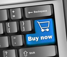"Keyboard Illustration ""Buy Now"""