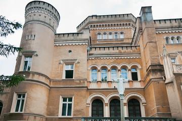 Neo-gothic castle - Narzymski Palace / Jablonowo Pomorskie 1853