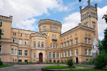 Neo-gothic castle / Jablonowo Pomorskie