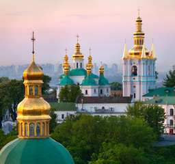 Wall Murals Kiev View of Kiev Pechersk Lavra Orthodox Monastery, Ukraine