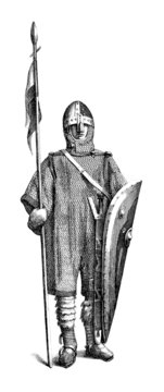 Medieval Warrior - 11th Century