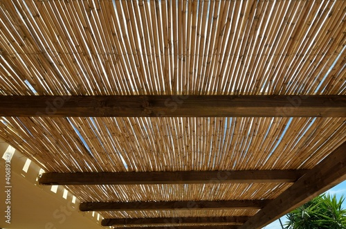 Tetto di canne stock photo and royalty free images on - Canne di bambu per tettoie ...
