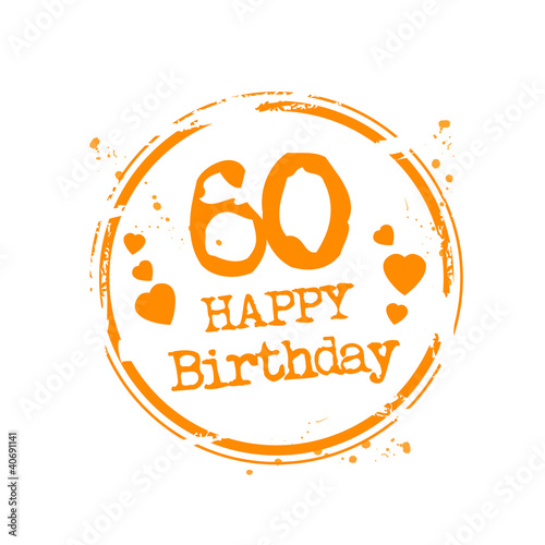 Happy Birthday 60 Stock Image And Royalty Free Vector Files On