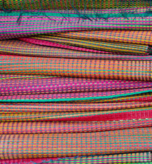 Colorful mat pattern