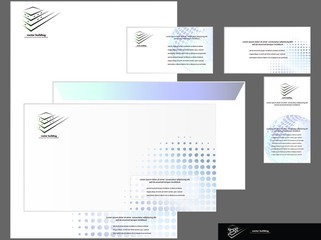 Template for Business. Vector