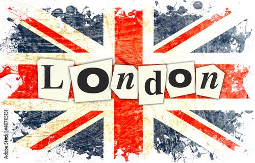 drapeau anglais london photo libre de droits sur la banque d 39 images image 40705131. Black Bedroom Furniture Sets. Home Design Ideas