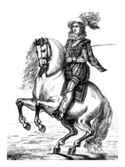 Horseman - 17th Century