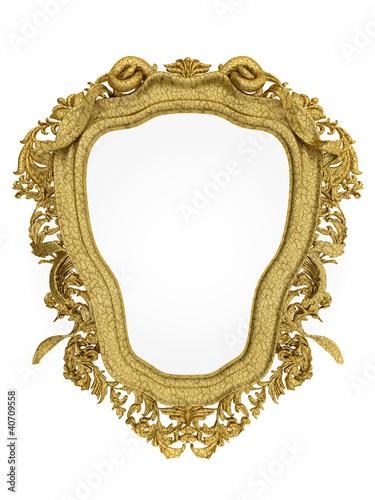 barock spiegel gold 3d stockfotos und lizenzfreie bilder. Black Bedroom Furniture Sets. Home Design Ideas