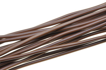 Brown cable for power supply