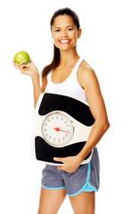 healthy weightloss woman