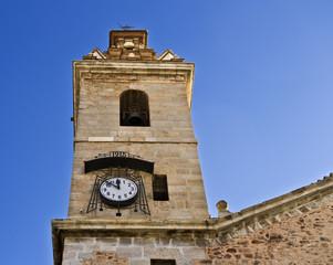 Torre con reloj