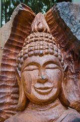 Wooden Buddha Image