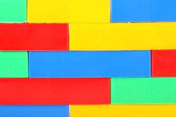 plastic bricks background