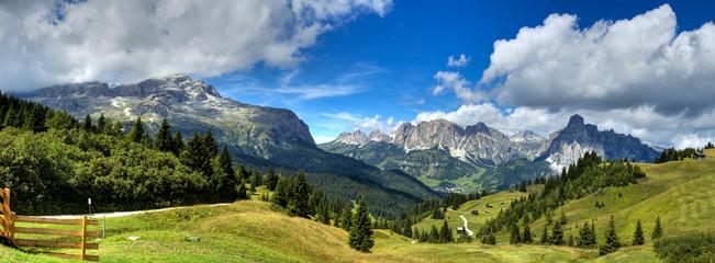 Fototapeta Dolomiti - Alta Badia panorama obraz