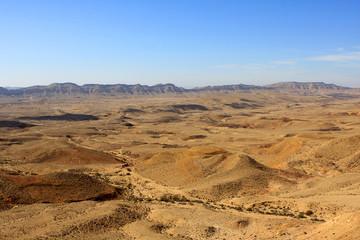 Big crater, Negev desert