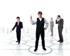 Model of social network
