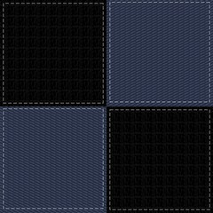 patchwork background with different textures