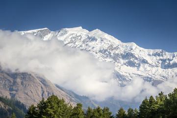 Annapurna Himalaya peaks in Nepal