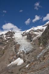 landscape of an alpine glacier on Mount Rose