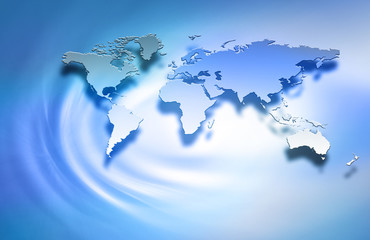 Best Internet Concept of global business . World map