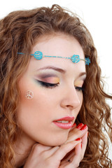hippy art make up