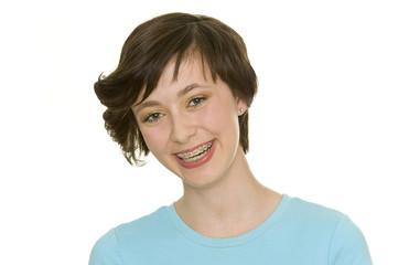 Portrait (Zahnspange)