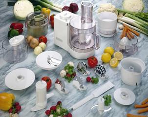 fresh vegetables and multiple purpose blender machine