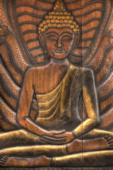 Ancienr Traditional Thai style Lord Buddha