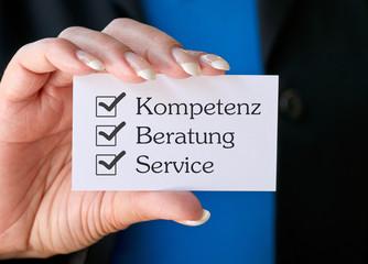 Kompetenz Beratung Service