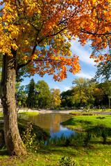 Kadriorg Park. Tallinn, Estonia
