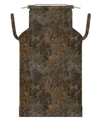 3d render of rusty milk barrel