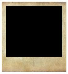 Photo frame, vintage texture