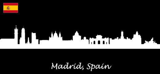 Skyline Madrid - Spain