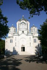 orthodox christian St. George church in Topola, Serbia