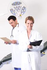 Ärztin in OP