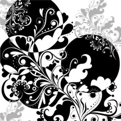 Pattern in black and white 2