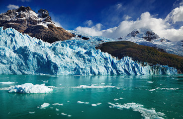 Wall Mural - Spegazzini Glacier, Argentina