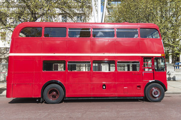 Foto auf Leinwand London roten bus London famous red buses