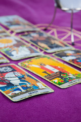 Tarot cards with the crystal ball (5).