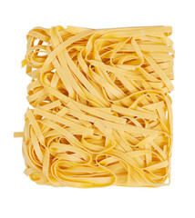 Packing noodles tangled